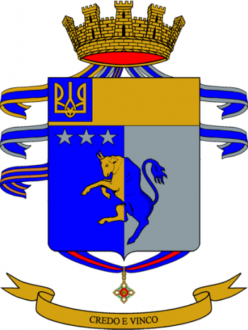 Coat of arms (crest) of the 82nd Infantry Regiment Torino, Italian Army