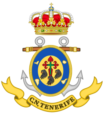 Coat of arms (crest) of the Naval Command of Tenerife, Spanish Navy