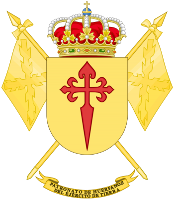 Coat of arms (crest) of the Spanish Army Orphan Patronage