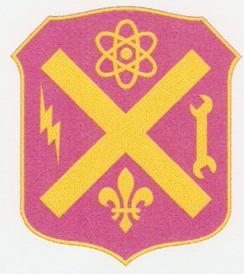 Arms of 10th Ordnance Battalion, US Army