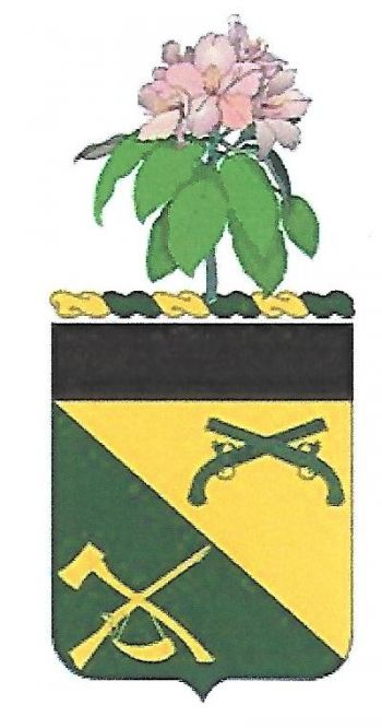 Arms of 151st Military Police Battalion, West Virginia Army National Guard