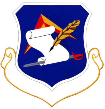 Coat of arms (crest) of the 512th Air Base Group, US Air Force