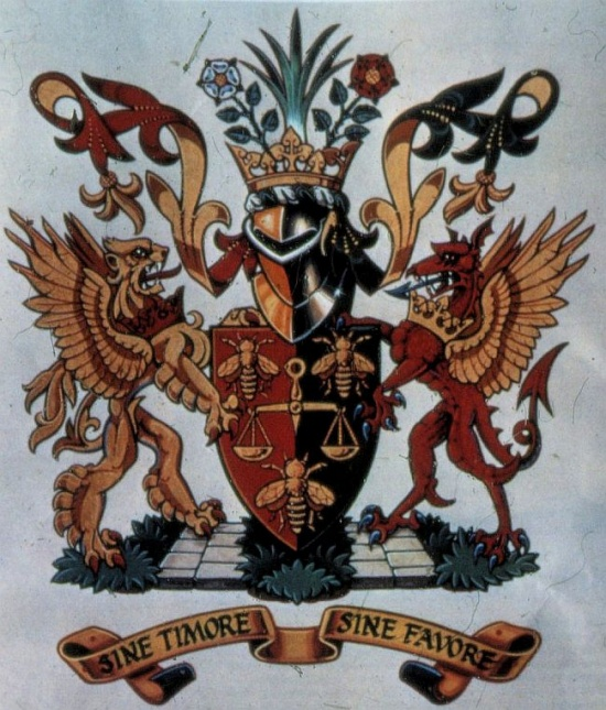 Arms of Police Federation of England and Wales