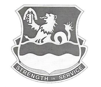 Arms of 724th Support Battalion, US Army