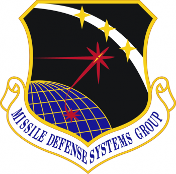 Coat of arms (crest) of the Missile Defense Systems Group, US Air Force