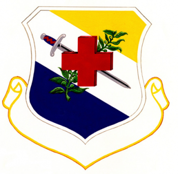 Coat of arms (crest) of the 31st Medical Group, US Air Force