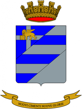 Coat of arms (crest) of the 47th Field Artillery Group Gargano, Italian Army