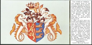 Arms (crest) of Ipswich