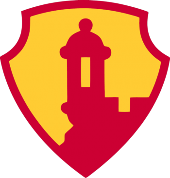 Coat of arms (crest) of the Antilles Command, US Army