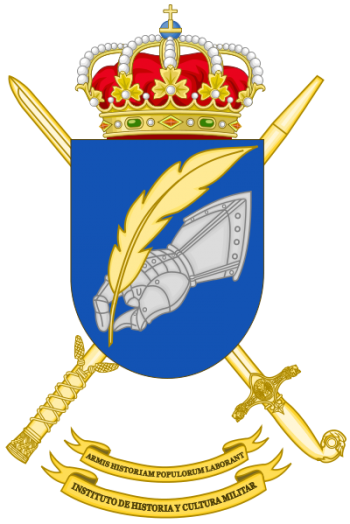 Coat of arms (crest) of the Military History and Culture Institute, Spanish Army