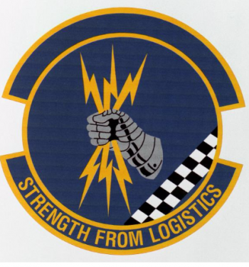 Coat of arms (crest) of the 85th Logistics Squadron, US Air Force