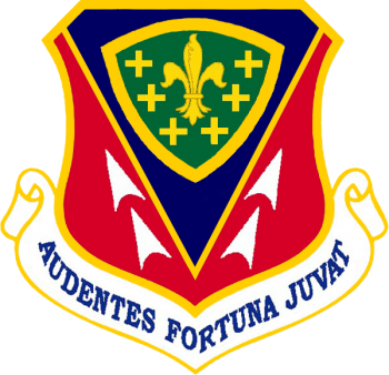 Coat of arms (crest) of the 366th Fighter Wing, US Air Force