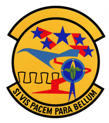 Coat of arms (crest) of the 155th Resource Management Squadron, Nebraska Air National Guard