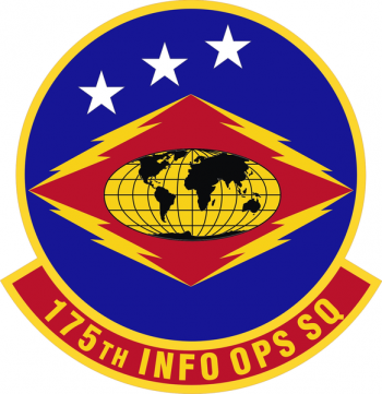 Coat of arms (crest) of the 175th Information Operations Squadron, Maryland Air National Guard