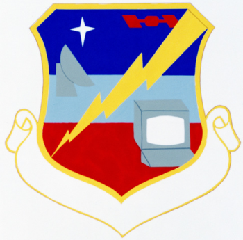 Coat of arms (crest) of the Research & Aquisition Information Systems Division, US Air Force