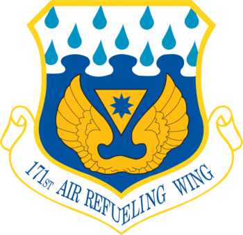 Coat of arms (crest) of the 171st Air Refueling Wing, Pennsylvania Air National Guard