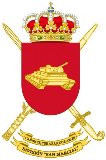 Coat of arms (crest) of the Division San Marcial, Spanish Army