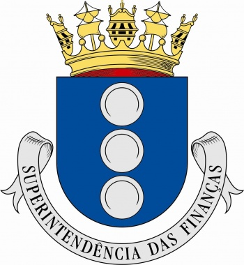Arms of Superintendenture of Finances, Portuguese Navy