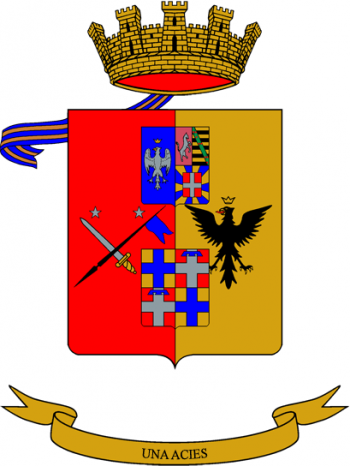 Coat of arms (crest) of the Military Academy, Italian Army