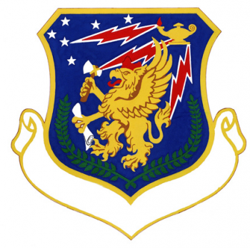 Coat of arms (crest) of the 868th Tactical Missile Training Group, US Air Force