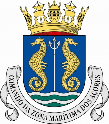Arms of Azores Maritime Zone Command, Portuguese Navy