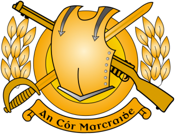 Coat of arms (crest) of the Irish Cavalry Corps, Irish Army
