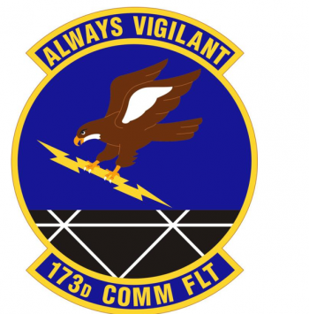 Coat of arms (crest) of the 173rd Communications Flight, Oregon Air National Guard