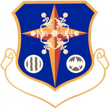 Coat of arms (crest) of the Arctic Aeromedical Research Laboratory, US Air Force