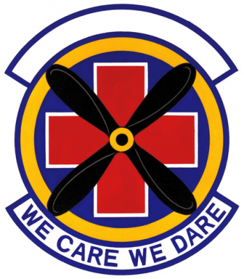 Coat of arms (crest) of the 146th Tactical Hospital, US Air Force