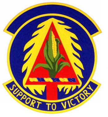 Coat of arms (crest) of the 155th Combat Support Squadron, Nebraska Air National Guard