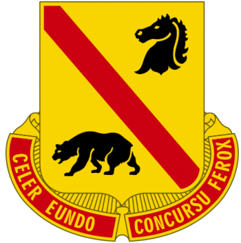 Arms of 302nd Cavalry Regiment, US Army