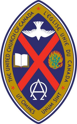 Arms of United Church of Canada, L'Église Unie du Canada