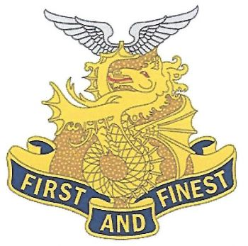 Arms of 1st Transportation Battalion, US Army