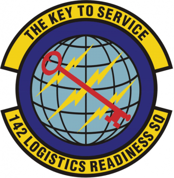 Coat of arms (crest) of the 142nd Logistics Readiness Squadron, Oregon Air National Guard