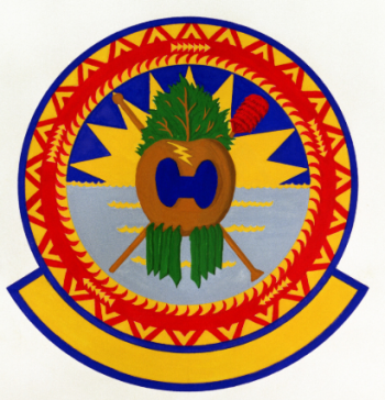 Coat of arms (crest) of the 154th Civil Engineering Squadron, Hawaii Air National Guard