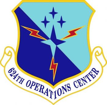 Coat of arms (crest) of the 624th Operations Center, US Air Force