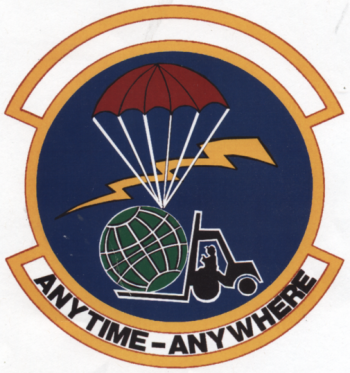 Coat of arms (crest) of the 25th Mobile Aerial Port Squadron, US Air Force