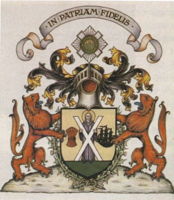 Arms of National Bank of Scotland