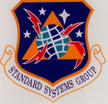 Coat of arms (crest) of the Standard Systems Group, US Air Force