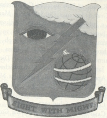 Coat of arms (crest) of the 99th Bombardment Group, USAAF