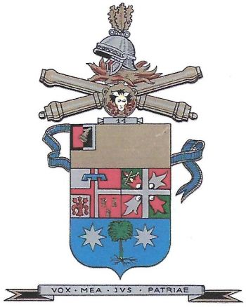 Coat of arms (crest) of the 14th Field Artillery Regiment, Italian Army