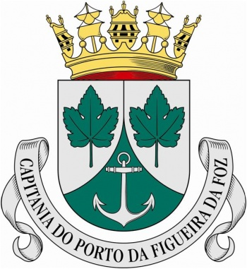 Coat of arms (crest) of the Harbour Captain of Figuera da Foz, Portuguese Navy
