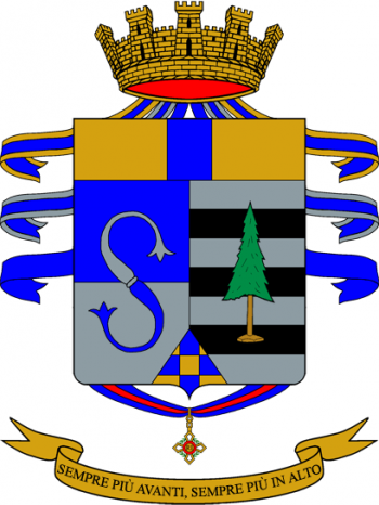 Coat of arms (crest) of the 13th Infantry Regiment Pinerolo, Italian Army