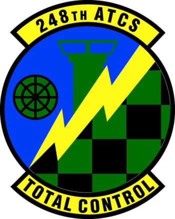 Coat of arms (crest) of the 248th Air Traffic Control Squadron, Mississippi Air National Guard