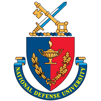 Coat of arms (crest) of the National Defense University, US
