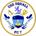 Coastal Patrol Ship USS Squall (PC-7).png