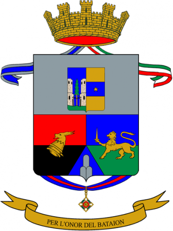 Coat of arms (crest) of the 12th Alpini Regiment, Italian Army