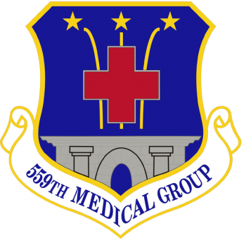 Coat of arms (crest) of the 559th Medical Group, US Air Force