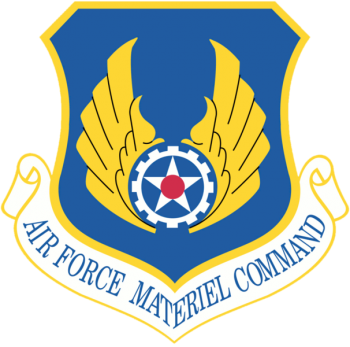 Coat of arms (crest) of the Air Force Materiel Command, US Air Force