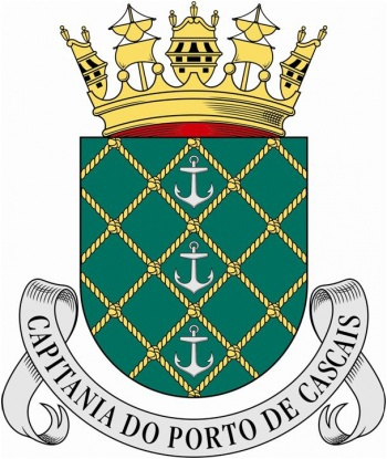 Coat of arms (crest) of the Harbour Captain of Cascais, Portuguese Navy